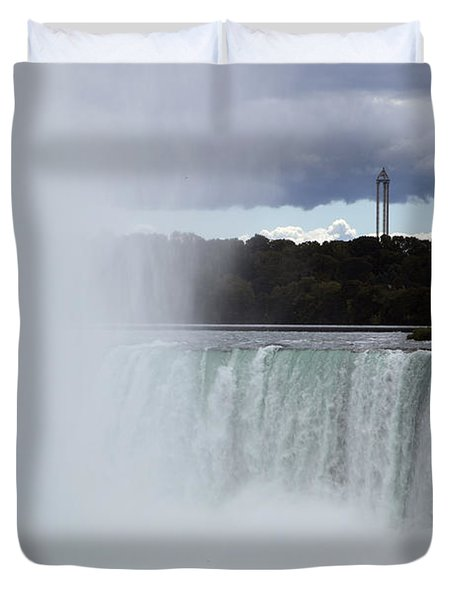 Misty Duvet Cover by Amanda Barcon