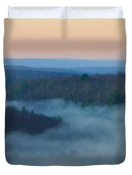 Misty Mountain Hop Duvet Cover by Bill Cannon
