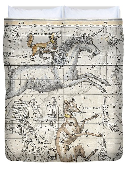 Monoceros Duvet Cover by A Jamieson