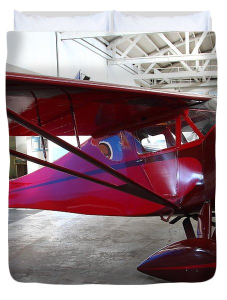 Monocoupe 110 . 7d11144 Duvet Cover by Wingsdomain Art and Photography