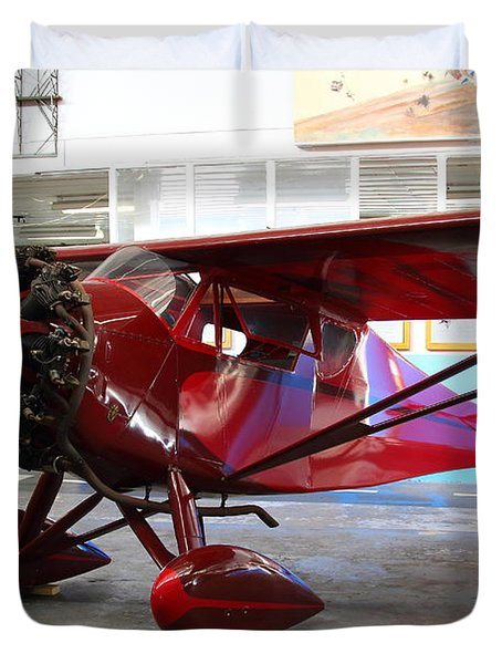 Monocoupe 110 . 7D11149 Duvet Cover by Wingsdomain Art and Photography