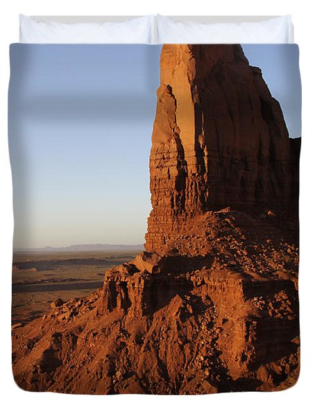 Monument Valley High-lites Duvet Cover by Mike McGlothlen