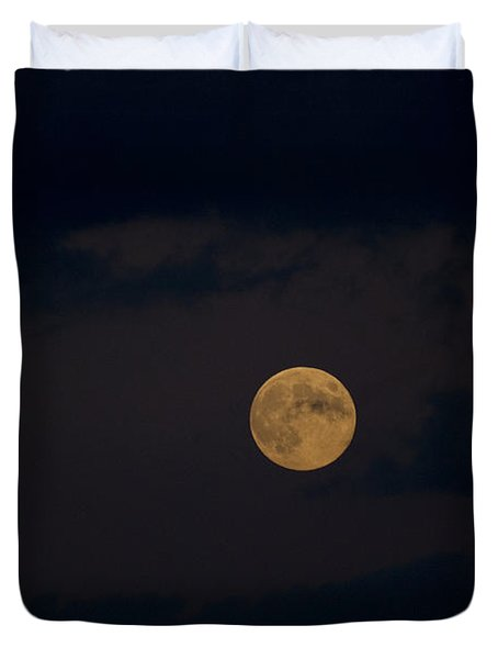 Moon Rising 05 Duvet Cover by Thomas Woolworth