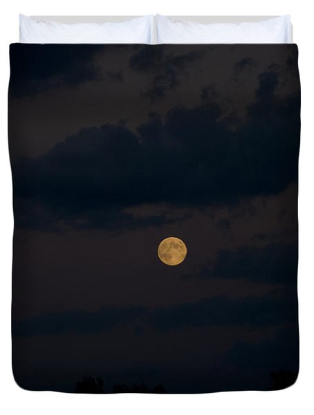 Moon Rising 06 Duvet Cover by Thomas Woolworth
