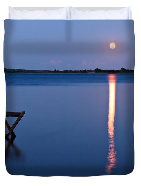 Moon View Duvet Cover by Gert Lavsen