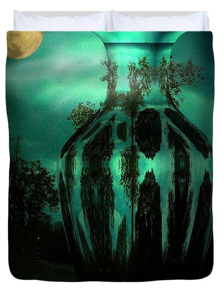 Moonglow Duvet Cover by Joyce Dickens