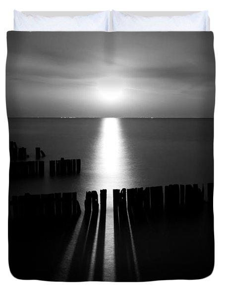 Moonrise 2 Duvet Cover by Cale Best