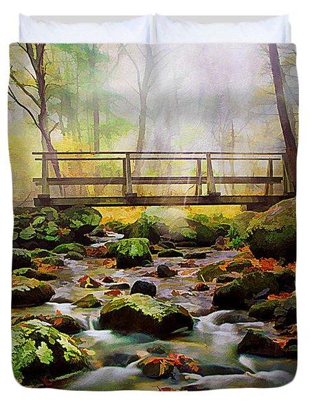 Morning Light Duvet Cover by Darren Fisher