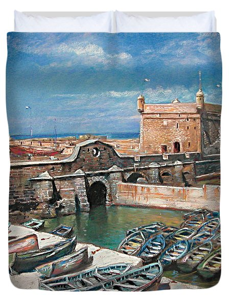 Morocco Duvet Cover by Ylli Haruni