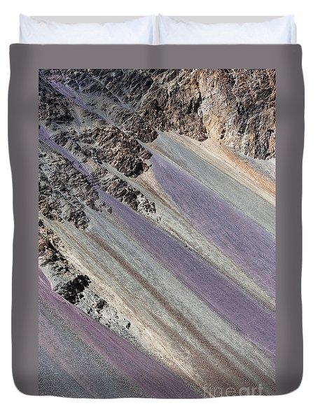 Mountain Abstract 5 Duvet Cover by Hitendra SINKAR