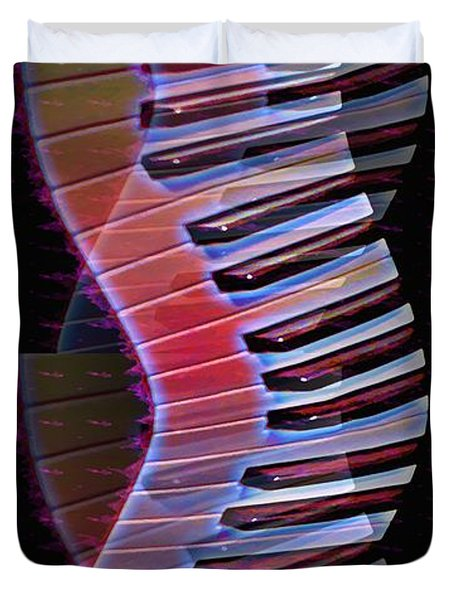Musical Dna Duvet Cover by Bill Cannon
