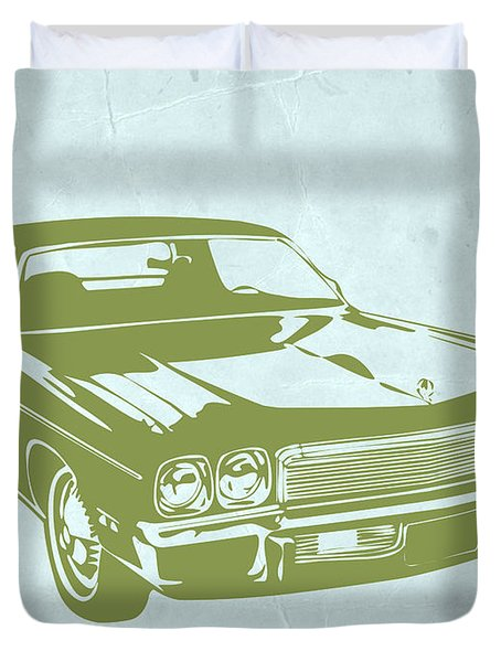 My Favorite Car 5 Duvet Cover by Naxart Studio