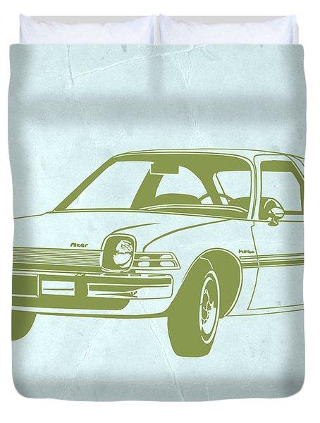 My Favorite Car  Duvet Cover by Naxart Studio