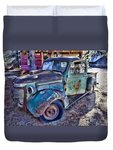 My Old Truck Duvet Cover by Garry Gay