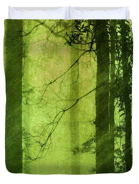 Mystical Glade Duvet Cover by Judi Bagwell