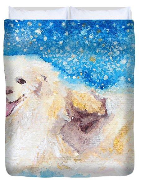 Nanny Bliss Duvet Cover by Ashleigh Dyan Bayer