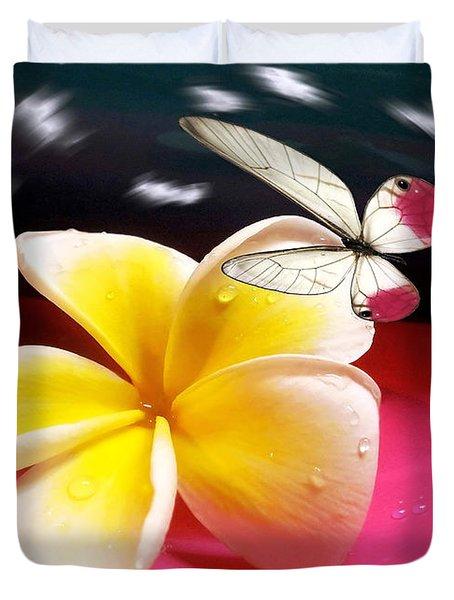 Nature In Orbit Duvet Cover by Kaye Menner
