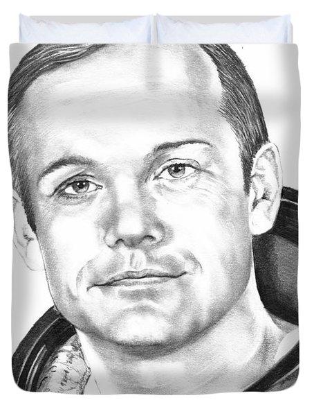 Neil Armstrong Duvet Cover by Murphy Elliott