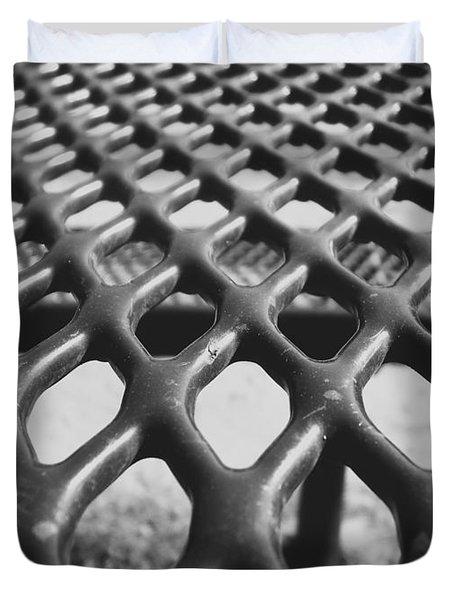 Net Duvet Cover by Andrea Anderegg