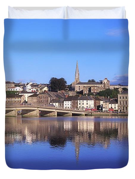 New Ross, Co Wexford, Ireland Duvet Cover by The Irish Image Collection