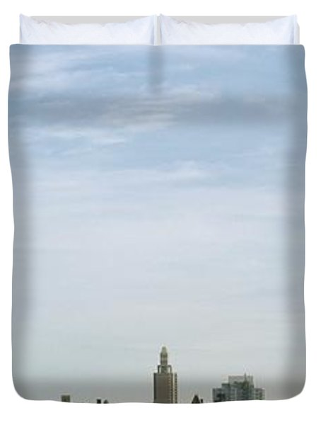 New York City Skyline Duvet Cover by Axiom Photographic