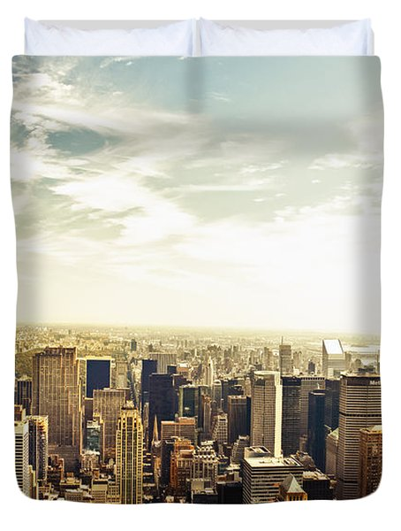 New York City Duvet Cover by Vivienne Gucwa