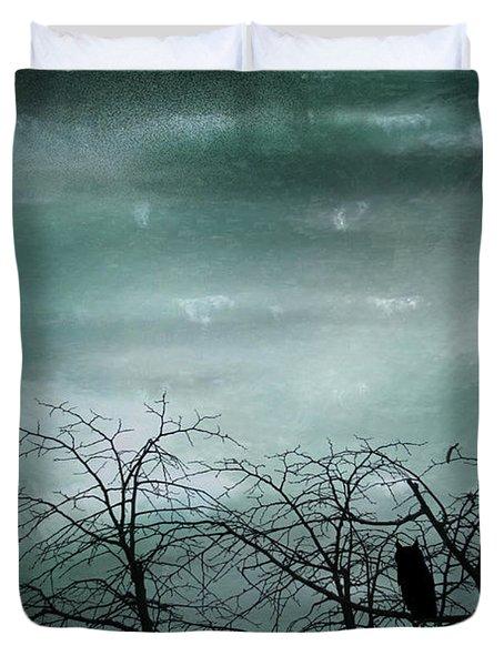 Night Owl Duvet Cover by Georgia Fowler