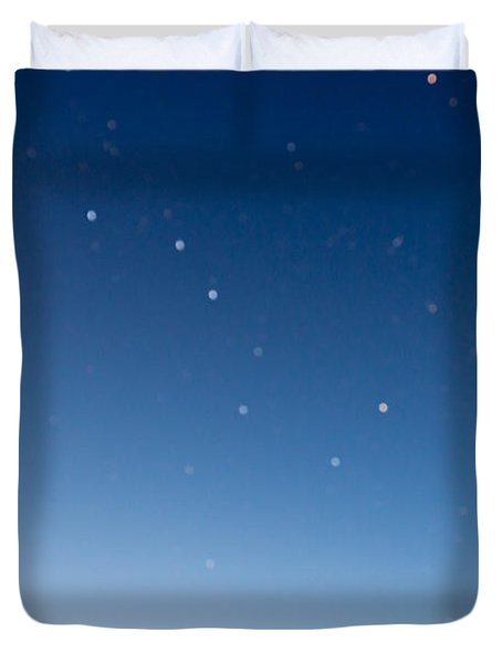 Night Sky Duvet Cover by Heidi Smith