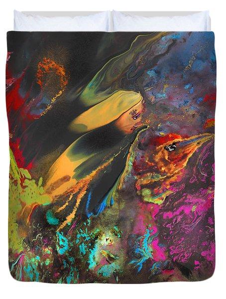Nightmare Duvet Cover by Miki De Goodaboom