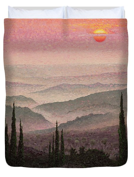 No. 126 Duvet Cover by Trevor Neal