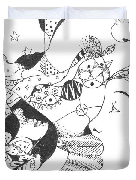 No Ordinary Dream Duvet Cover by Helena Tiainen