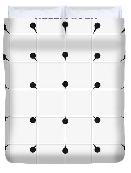 No033 My HELLRAISER minimal movie poster.jpg Duvet Cover by Chungkong Art