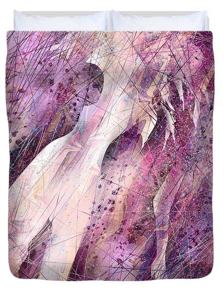Not Forgotten Duvet Cover by Rachel Christine Nowicki
