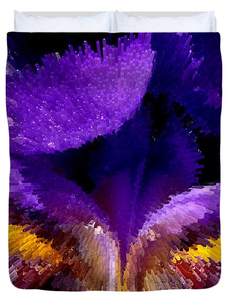 Not Your Average Iris Duvet Cover by Paul W Faust -  Impressions of Light