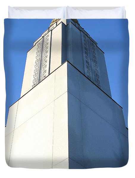 Oakland California Temple . The Church Of Jesus Christ Of Latter-day Saints . 7d11353 Duvet Cover by Wingsdomain Art and Photography