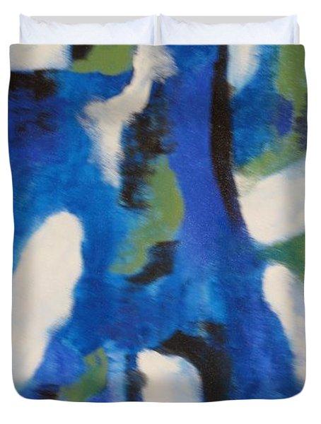 Ocean 1 Duvet Cover by Nedunseralathan R