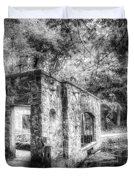 Old Spring House Duvet Cover by Scott Norris