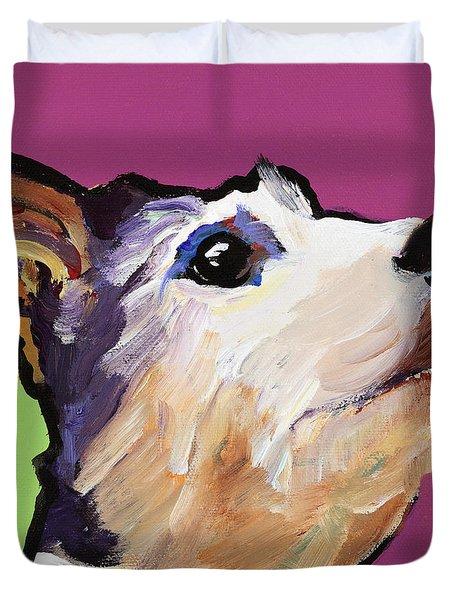 Ollie Duvet Cover by Pat Saunders-White
