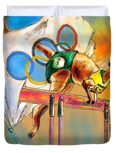 Olyver Duvet Cover by Miki De Goodaboom