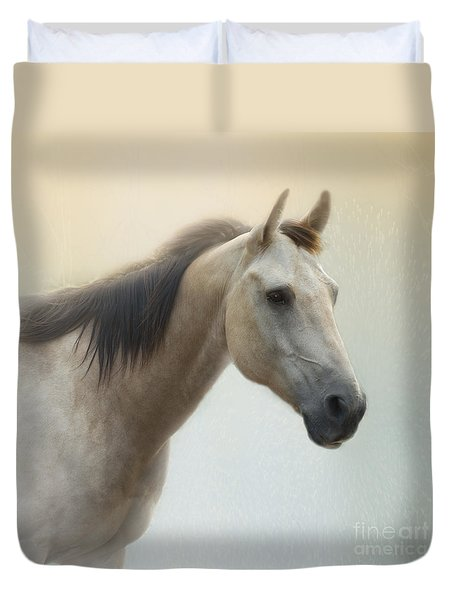 On A Summer Day Duvet Cover by Betty LaRue