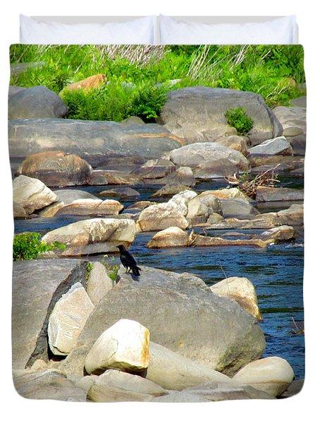 On The Rock Duvet Cover by Randi Shenkman