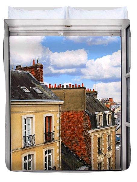 Open Window Duvet Cover by Elena Elisseeva