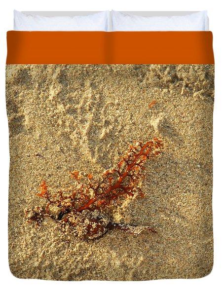 Orange Glow Duvet Cover by Leana De Villiers