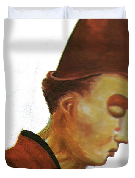 Origene Duvet Cover by Emmanuel Baliyanga