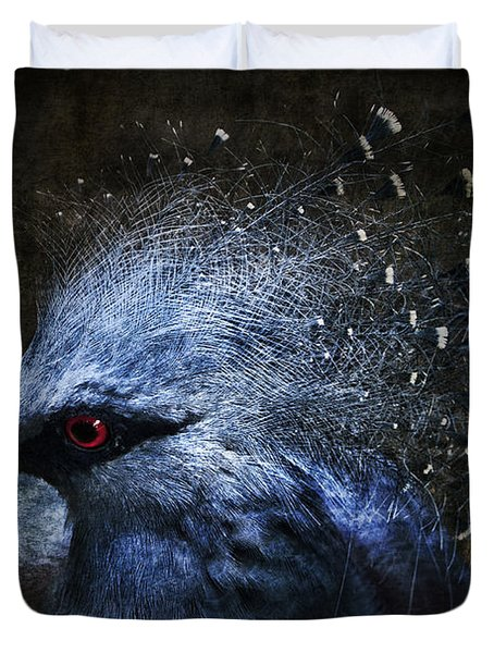 Ornamental Nature Duvet Cover by Andrew Paranavitana