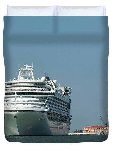 Out To Sea Duvet Cover by Evgeny Pisarev
