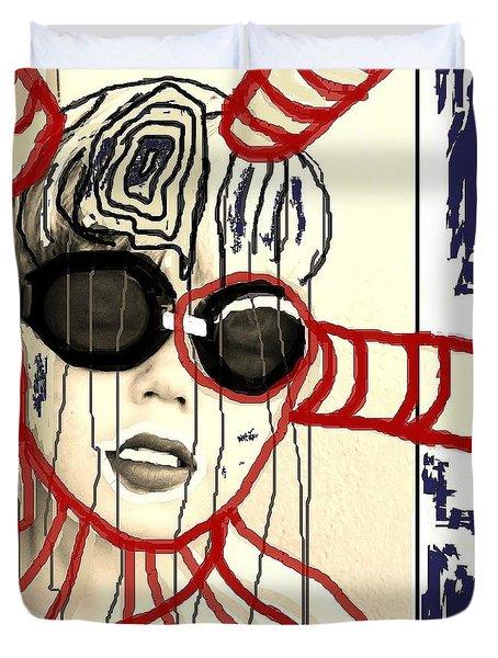 Outflow Duvet Cover by Franziska Kolbe