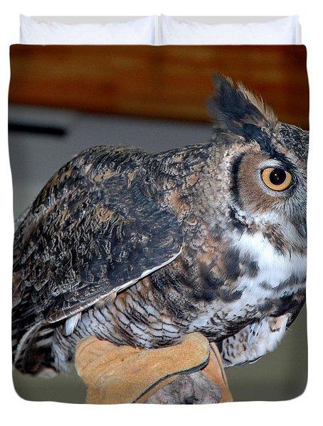Owl together now Duvet Cover by LeeAnn McLaneGoetz McLaneGoetzStudioLLCcom