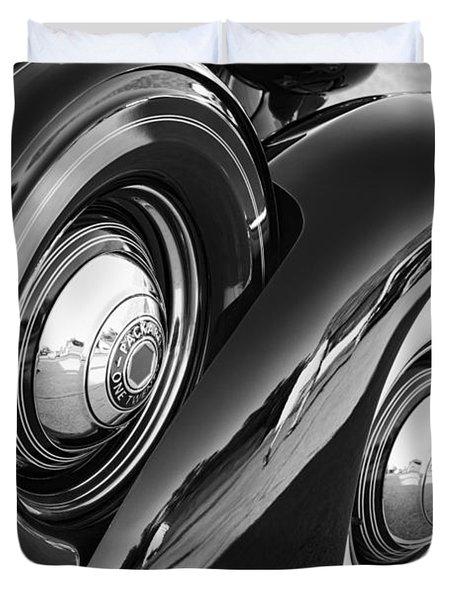Packard One Twenty Duvet Cover by Gordon Dean II
