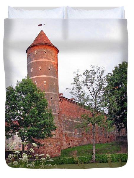 Panemunes Castle. Lithuania. Duvet Cover by Ausra Huntington nee Paulauskaite